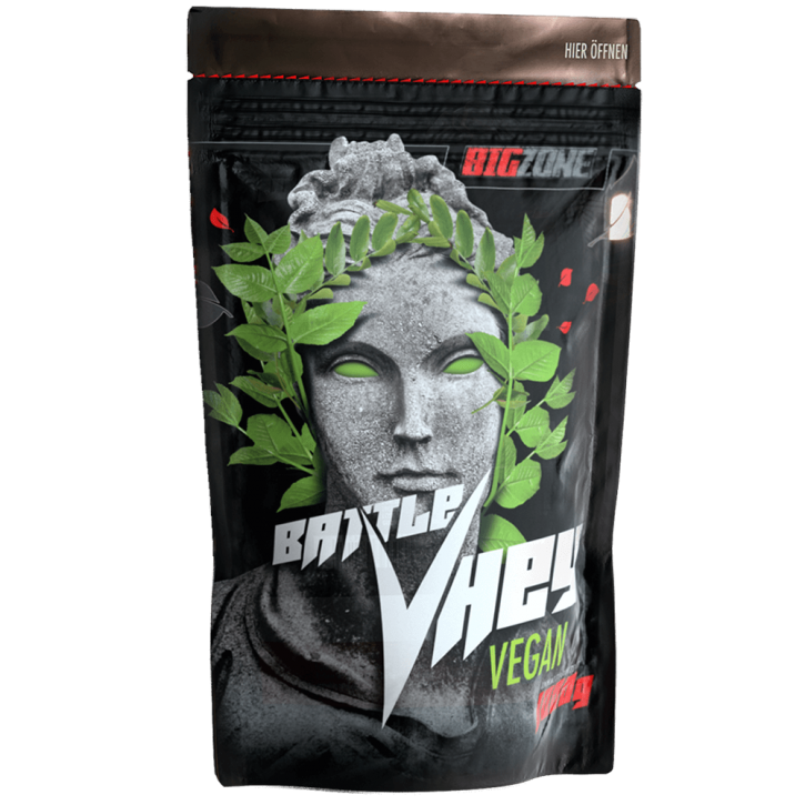 Big Zone Battle Vhey Vegan - 1000g Schoko Haselnuss